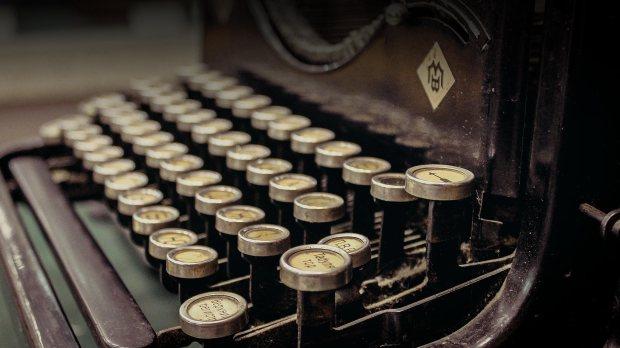 bakgrund-skrivmaskin