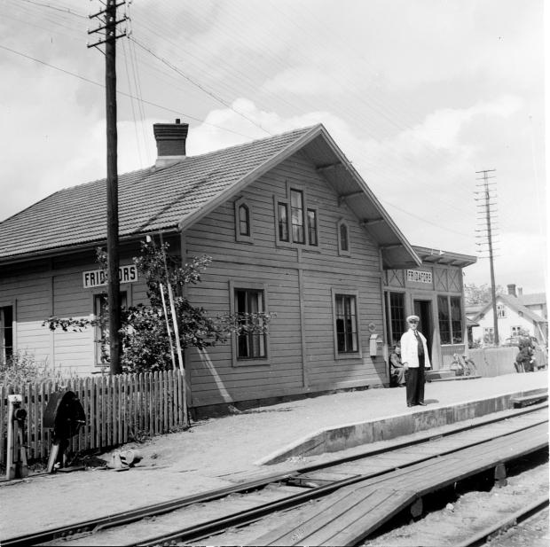 Fridafors station