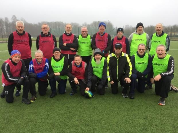 Gåfotbollsgänget Ljungby, januari 2020